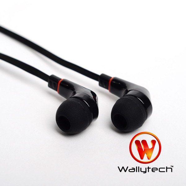 Фото: Наушники Wallytech WEA-111, Black, 3.5 mm