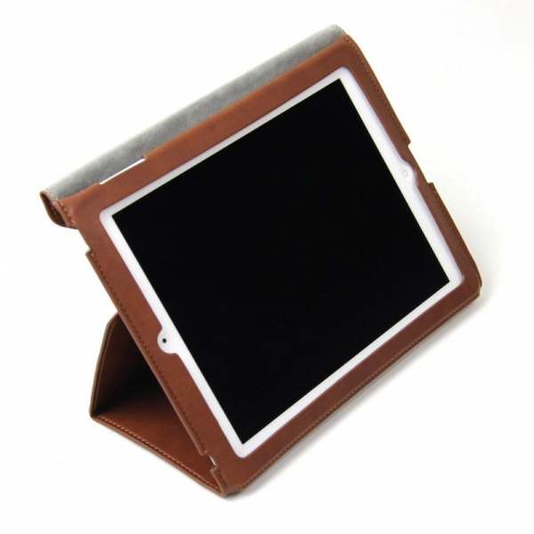Фото: Чехол для iPad Kajsa iPad 3 Preppie PU case Dark Brown