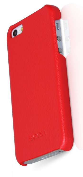 Фото: Чехол HOCO для iPhone 5, Duke, Red, Back Cover (HI-BL006R)