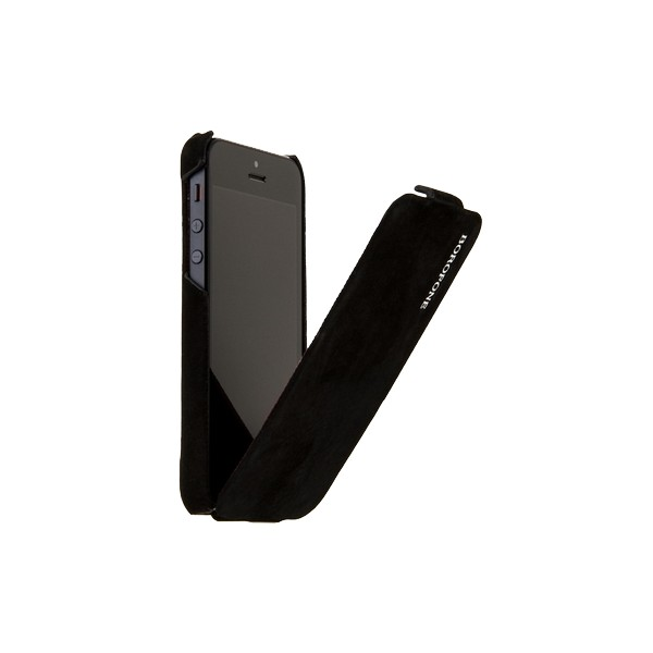 Фото: Чехол Borofone для iPhone 5, Shark Leather Case, Black (BI-L026B)