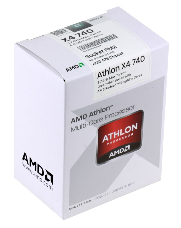 Фото: Процессор AMD Athlon II X4 X4 740 Box