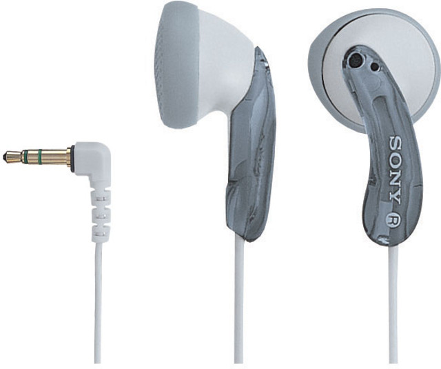 Фото: Наушники Sony MDR-E10LPH White/Gray MP3 гарантия 6 мес.