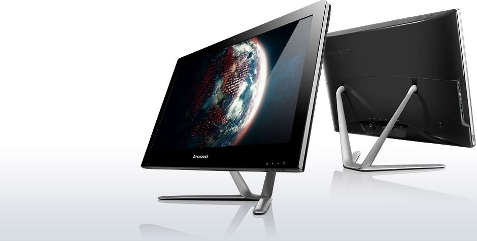 "Фото: Моноблок All-in-one Lenovo 23"" IdeaCentre C540 (57-319666) Black / 23"" Touch"