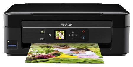Фото: МФУ струйное Epson Expression Home XP-313 Wi-Fi  (C11CC92311) Black + СНПЧ Patron + (4x60ml)