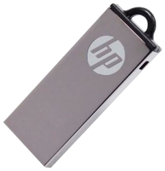 Фото: USB Flash Drive 8Gb HP V220W Metal Silver / 14/4Mbps / FDU8GBHPV220W-EF