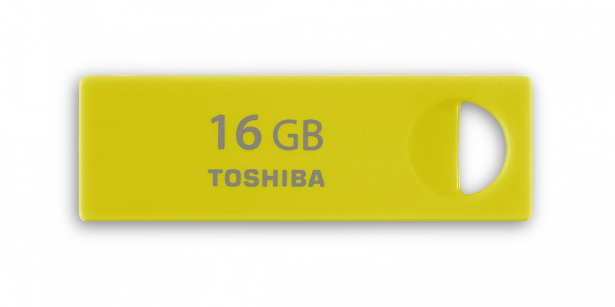 Фото: USB Flash Drive 16Gb Toshiba Enshu Yellow / 16/7Mbps / (THNU16ENSYELL(BL5)