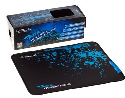 Фото: Коврик E-Blue EMP004 Mazer design 280x255mm Black