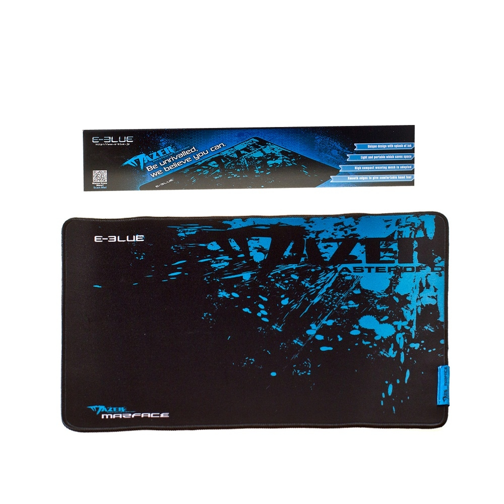 Фото: Коврик E-Blue EMP004 Mazer design 445x355mm Black