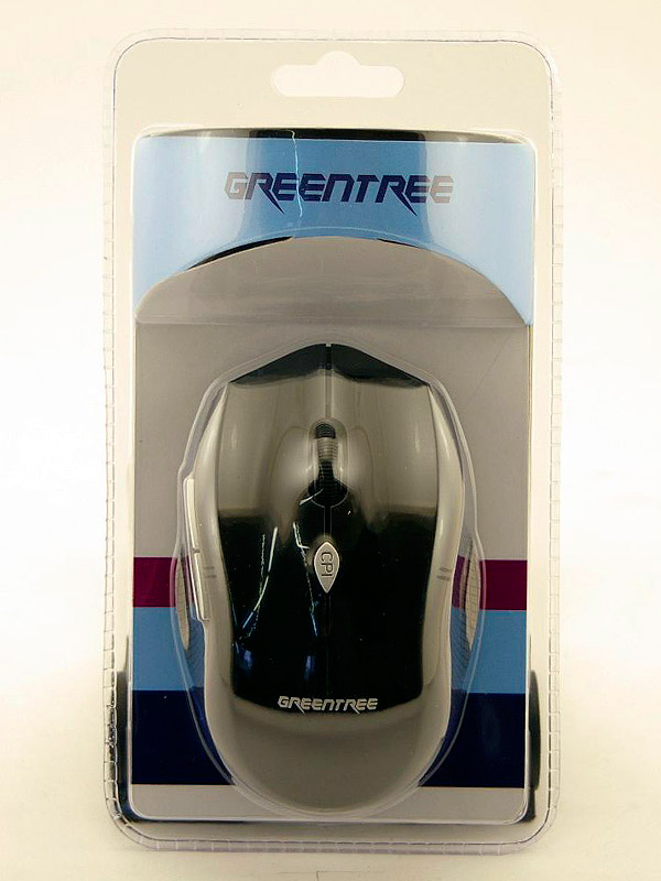Фото: Мышь Greentree Wireless GT-MS21RF black