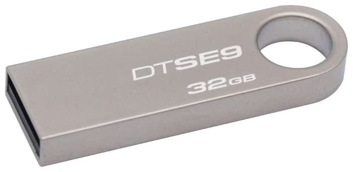 Фото: USB Flash Drive 32 Gb Kingston DT SE9 Silver/ DTSE9H/32GB