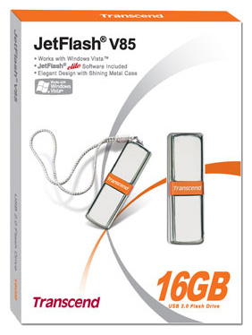 Фото: USB Flash Drive 16 Gb Transcend V85 USB2.0