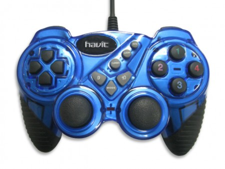 Фото: Геймпад Havit HV-G92, Blue, USB
