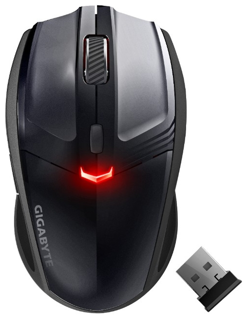 Фото: Мышь Gigabyte GM-ME500V2 Laser, Wired/Wireless