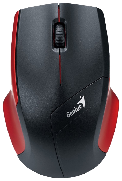 Фото: Мышь Genius Wireless NS-6015, 2.4G, USB, Black/Red