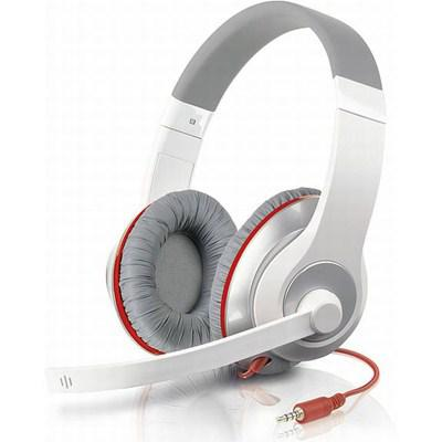 Фото: Наушники SPEED LINK AUX Stereo Headset, white-red (SL-8755-WTRD)