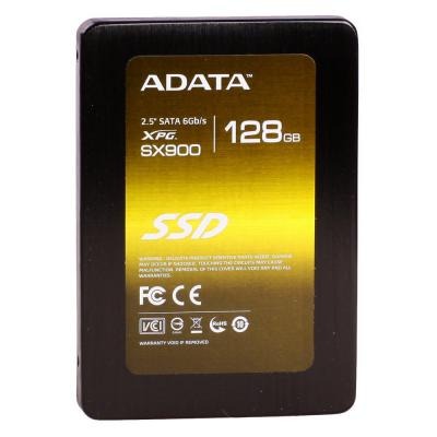 "Фото: Жесткий диск SSD 128Gb A-DATA XPG SX900 (ASX900S3-128GM-C) / 2,5"" / MLC / read 550Mb/s / write 520Mb/s / SATAIII"