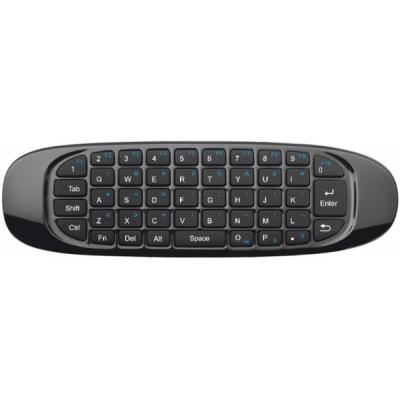 Фото: Клавиатура к ТВ Trust Wireless keyboard & air Mouse for TV, PC PS Media (20050)