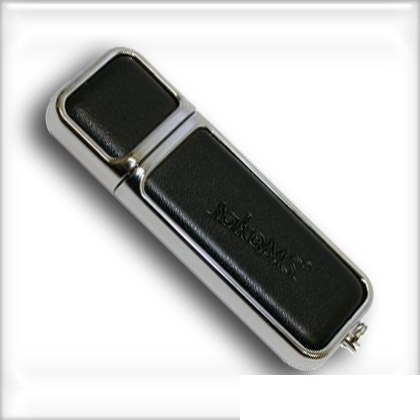 Фото: USB Flash Drive 8 Gb TakeMS Leather Black