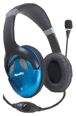 Фото: Гарнитура Hardity HP-440MV black/blue