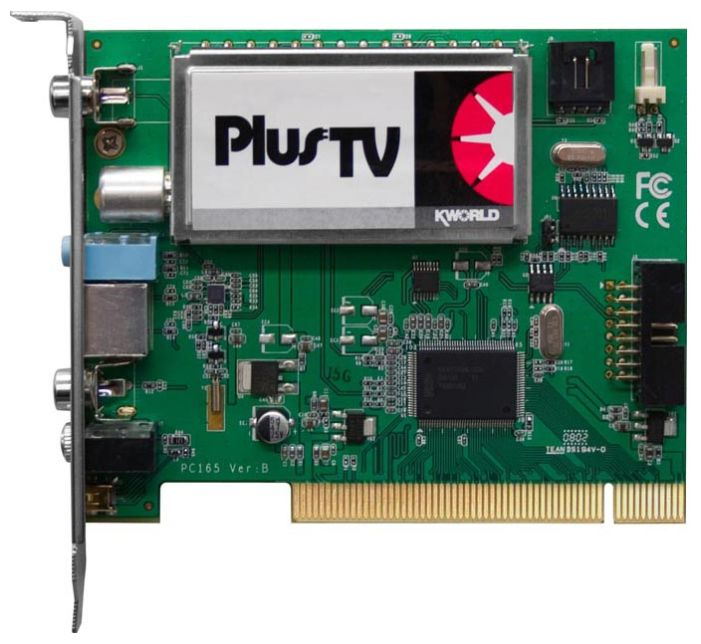 Фото: TV-тюнер PCI KWorld PVR-TV PC165-A