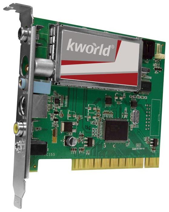 Фото: TV-тюнер PCI KWorld PC155-A