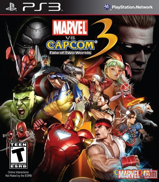 Фото: PS3. Marvel vs Capcom 3: Fate of Two Worlds