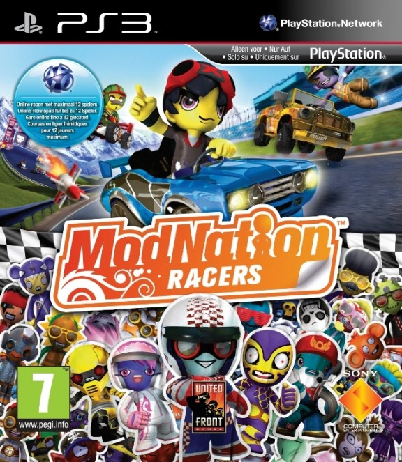 Фото: PS3. ModNation Racers (русская версия)