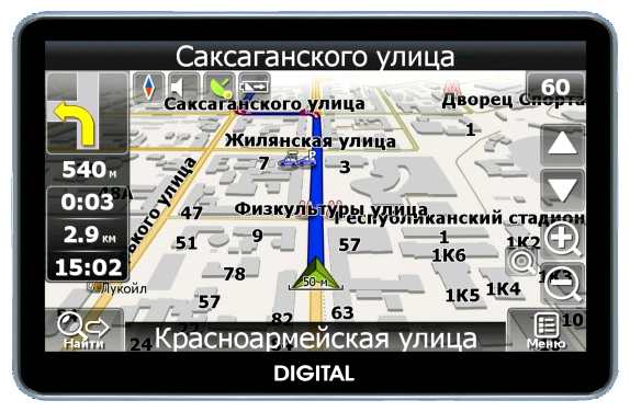 Фото: Навигатор GPS Digital DGP-5011