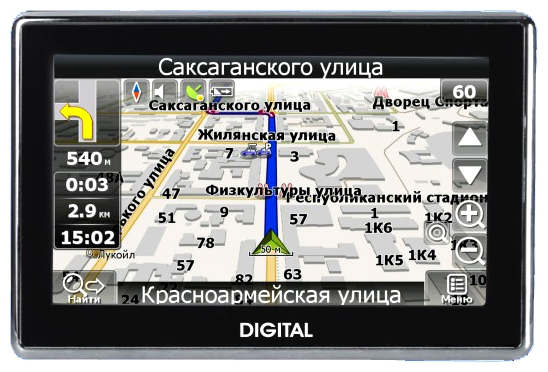 Фото: Навигатор GPS Digital DGP-5030