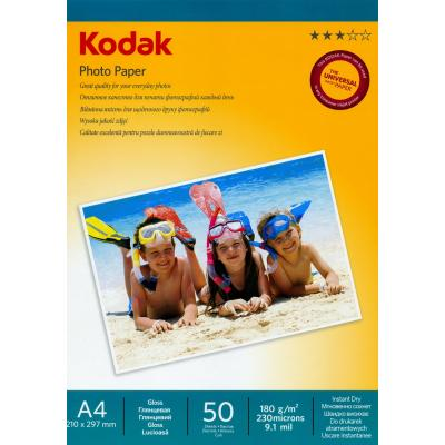 Фото: Бумага Kodak A4 Photo Paper - Gloss 180gsm  50л (5740-801)