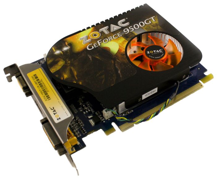 Фото: Видеокарта ZOTAC 9500GT Zone 1GB