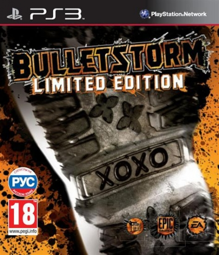 Фото: PS3. Bulletstorm Limited Edition