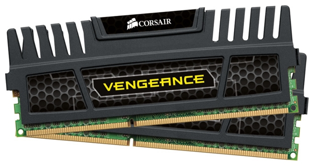 Фото: Модуль памяти DDR3 4Gb (2 x 2Gb) PC3-16000 CORSAIR Vengeance (CMZ4GX3M2A2000C10)
