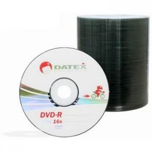 Фото: Диск DVD-R 100 Datex, 4.7GB, 16x, Bulk Box