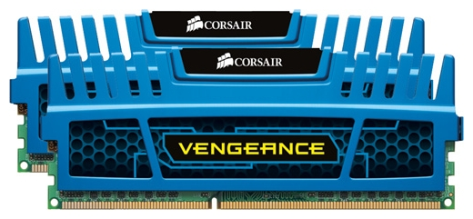 Фото: Модуль памяти DDR3 4Gb (2 x 2Gb) PC3-12800 Corsair Vengeance (CMZ4GX3M2A1600C9B)