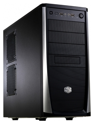Фото: Корпус CoolerMaster Elite 371 460W (RC-371-KKP460) Black