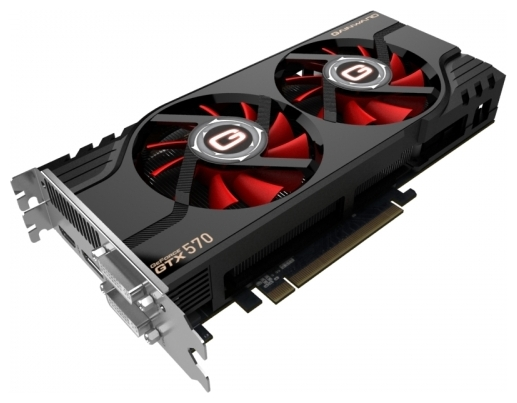 Фото: Видеокарта Gainward GeForce GTX570, 1280Mb DDR5 (GW-426018336-1756)