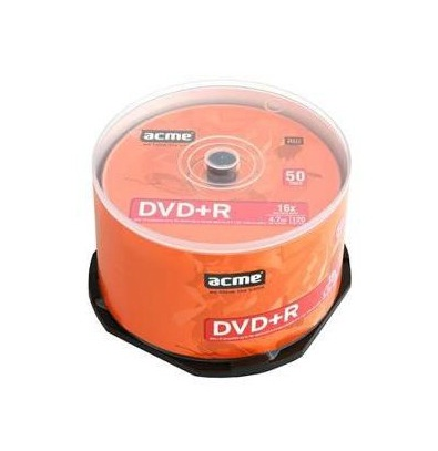 Фото: Диск DVD+R 50 Acme 4.7GB 16x Cake Box