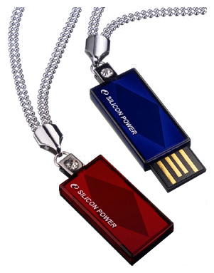 Фото: USB Flash Drive 32Gb Silicon Power Touch 810 Blue / 12/4Mbps / SP032GBUF2810V1B