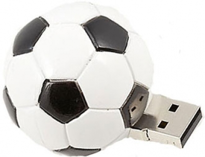 Фото: USB Flash Drive 8 Gb Pretec i-Disk Football