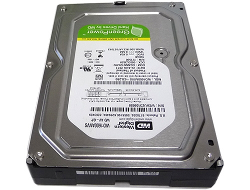 Фото: Жесткий диск 160GB SATA Western Digital 7200 8MB (WD1600AVVS ) 12 мес