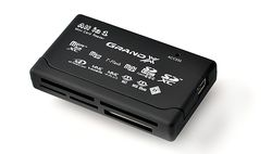 Фото: Card Reader внешний Grand-X All-in-One 64Gb to 2Tb SDXC (CRX05Black)