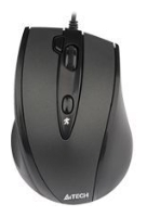 Фото: Мышь A4Tech N-770FX black, USB