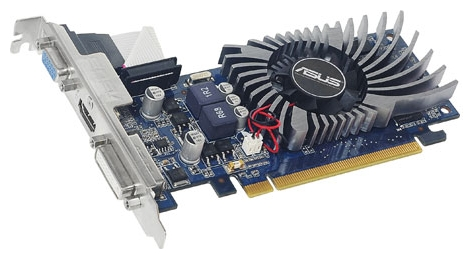Фото: Видеокарта Asus GeForce 210, 1GB DDR3 (210-1GD3-L)
