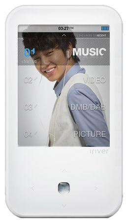 Фото: MP3/MP4-плеер iRiver S100, 8Gb, White