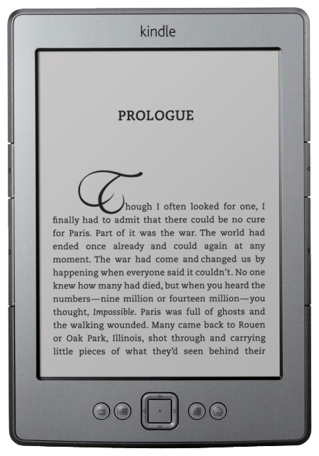"Фото: Электронная книга 6"" Amazon Kindle 4, Wi-Fi, E-Ink Display"