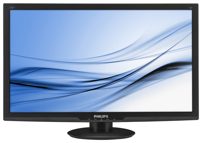 "Фото: Монитор 27"" PHILIPS 273E3LHSB/00 w-LED 16:9 HDMI MM Black"