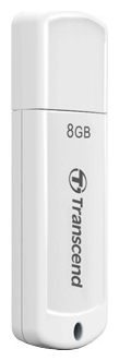Фото: USB Flash Drive 8Gb Transcend 370 White (TS8GJF370)