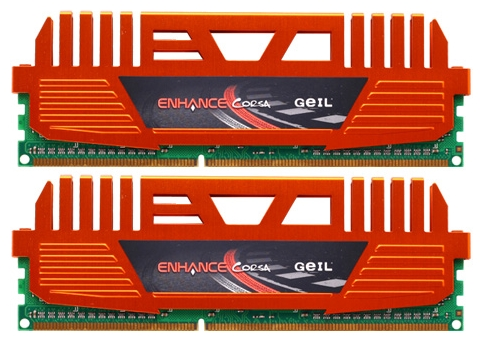 Фото: Модуль памяти DDR3 8Gb (2 x 4Gb) PC3-12800 (1600MHz) GeIL Value Plus (GEC38GB1600C9DC) 9-9-9-24