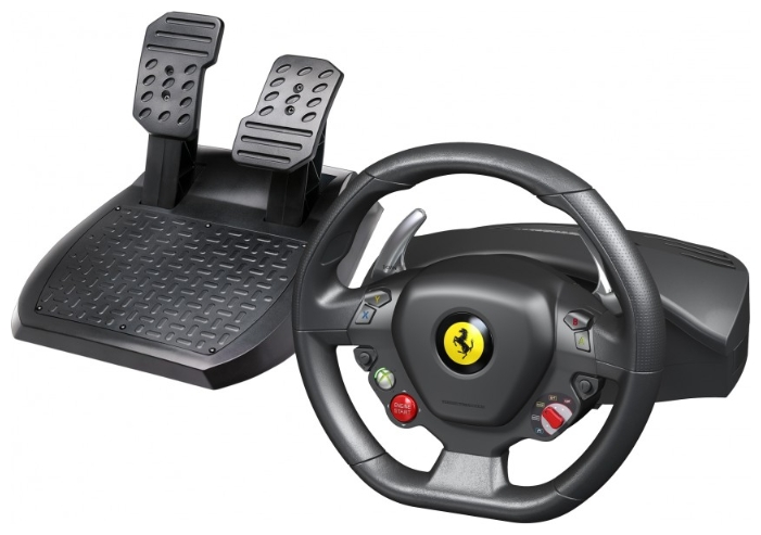 Фото: Руль Thrustmaster Ferrari 458 Italia racing wheel, PC, xbox 360 (4460094)